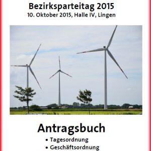 Antragsbuch zum Bezirksparteitag 2015