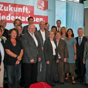 Der neue SPD-Bezirksvorstand Weser-Ems