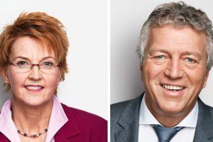 MdB Susanne Mittag und MdB Rainer Spiering