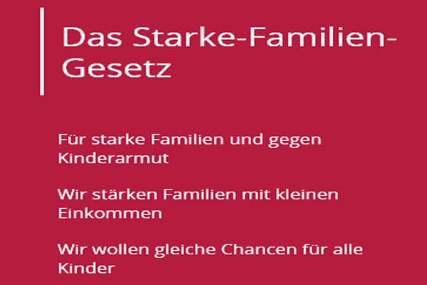 Das Starke-Familien-Gestz