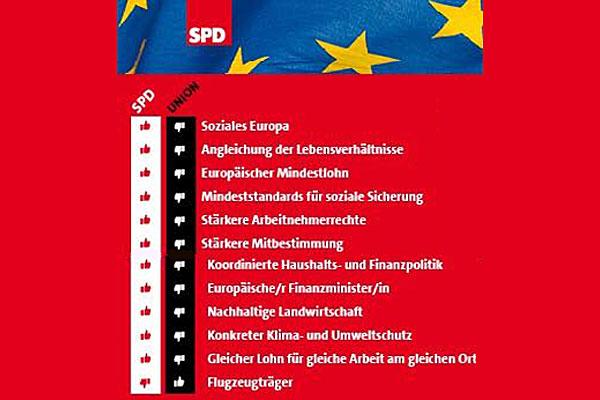 Europapolitik Vergleich
