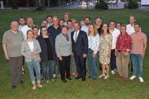 SPD-Bezirksvorstand Weser-Ems mit Boris Pistorius