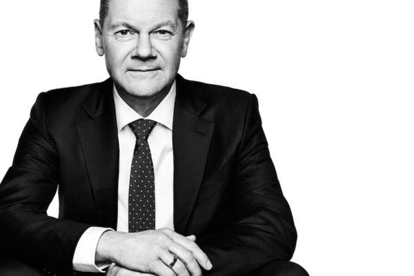 Porträt Olaf Scholz