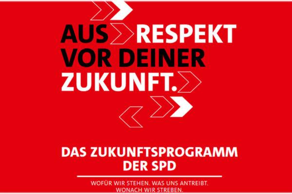 Link zum Zukunftsprogramm der SPD